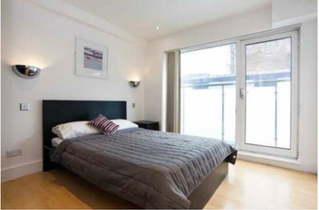 A double room with a bathroom, finished to a high standard!